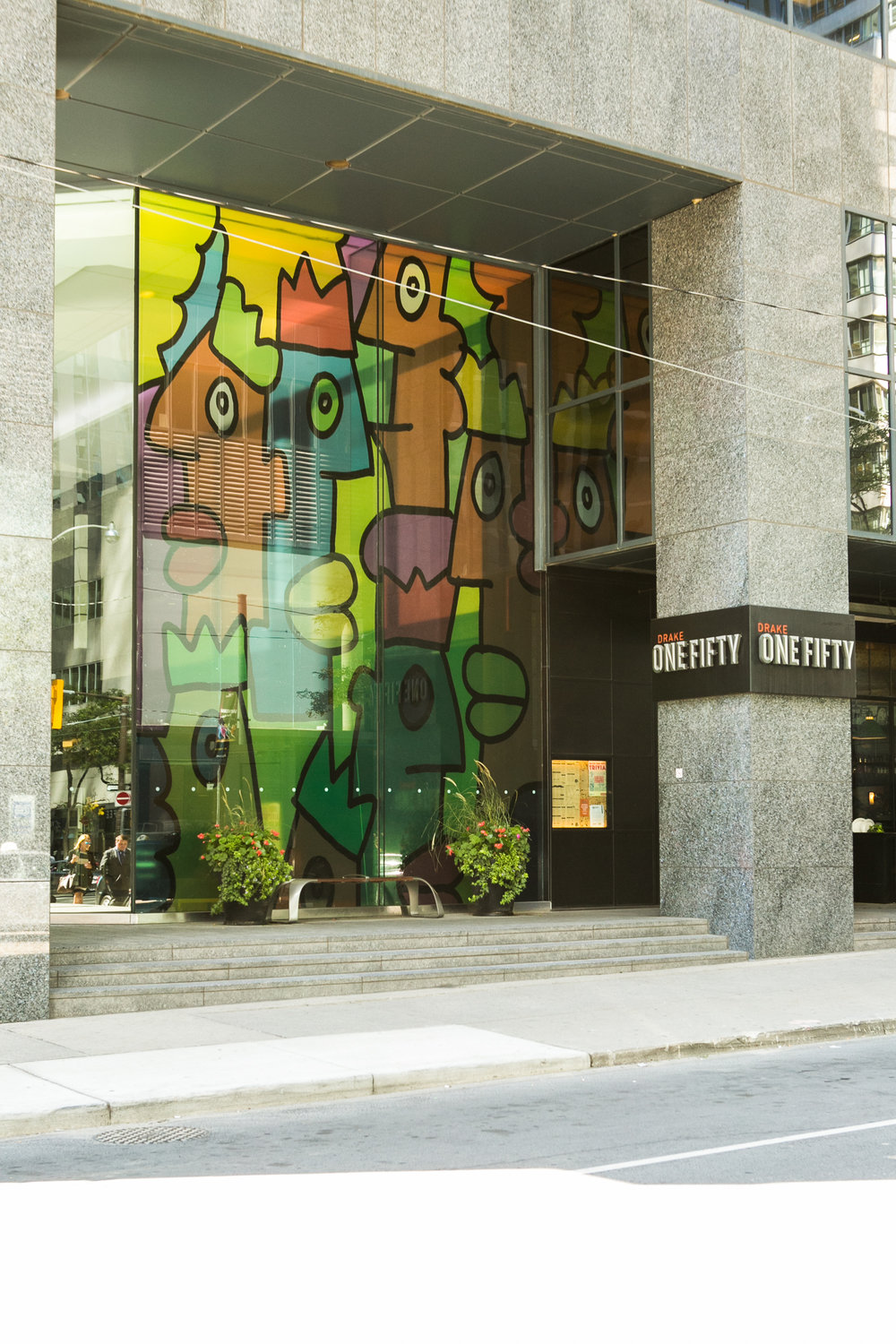 Thierry Noir Anamorphose, Sept. 1, 2014 – Aug. 31, 2015