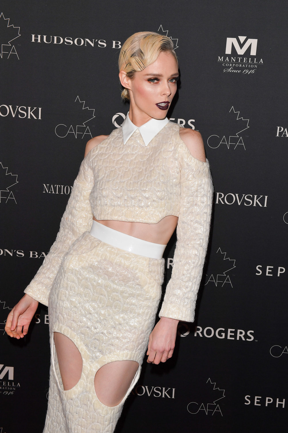 Model Coco Rocha attends the Canadian Arts and Fashion Awards at the Fairmount Royal York in Toronto