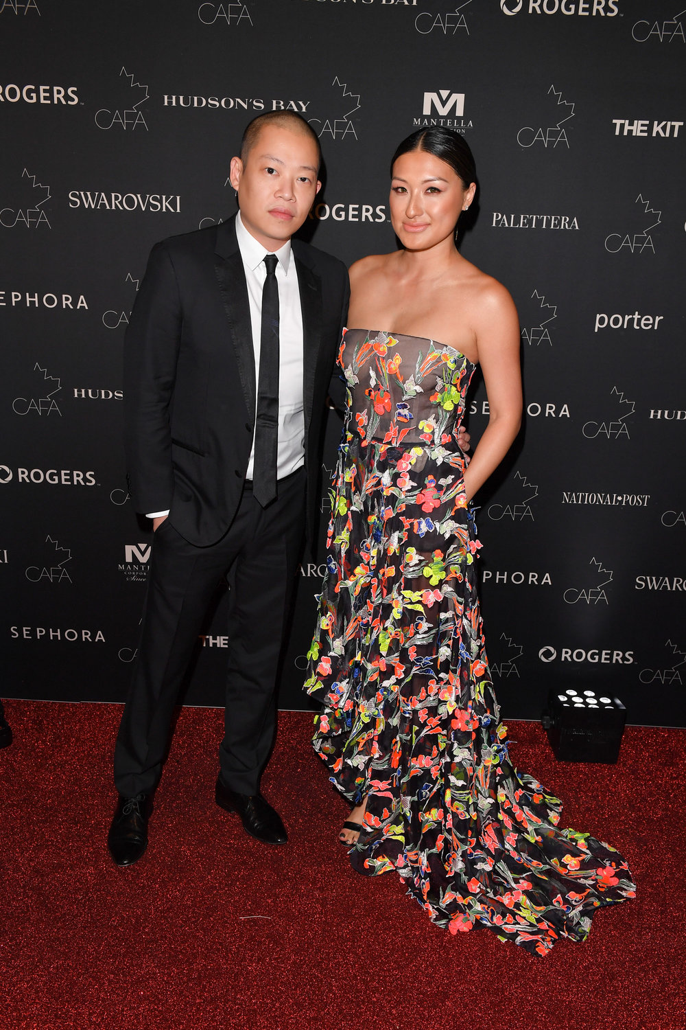 Designer Jason Wu walks the red carpet at the Canadian Arts and Fashion Awards at the Fairmount Royal York in Toronto