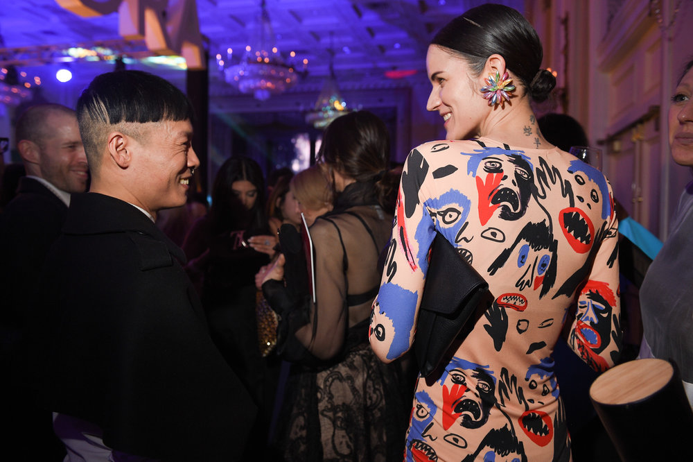 Designer Stephen Wong of Greta Constantine, attends the Canadian Arts and Fashion Awards at the Fairmount Royal York in Toronto