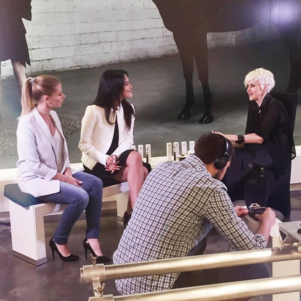 En coulisse du tournage de la capsule avec Geneviève Borne 🎥