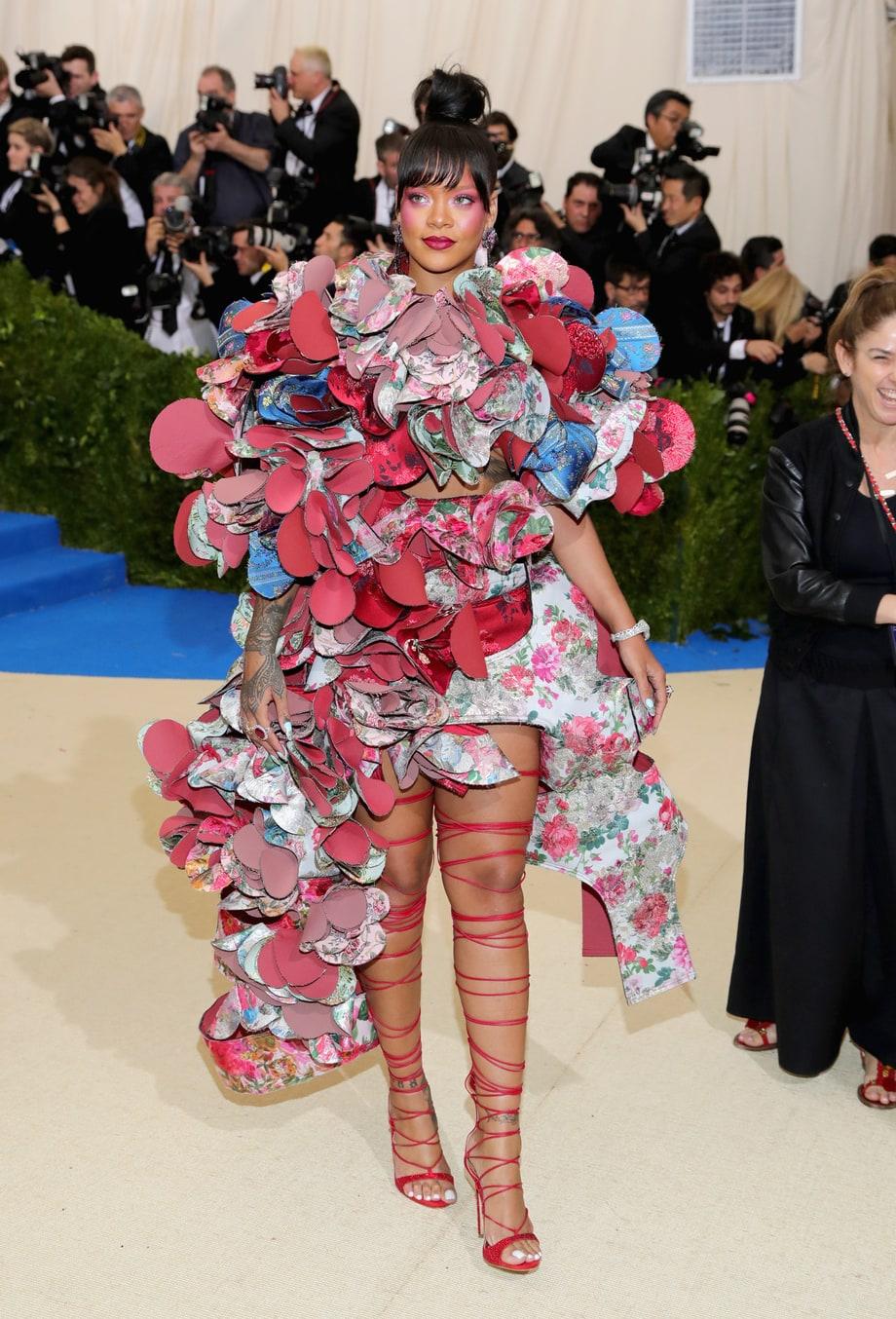 30 - La tenue de tapis rouge qui t'a le plus marquée ? - Rihanna, MET Gala 2017