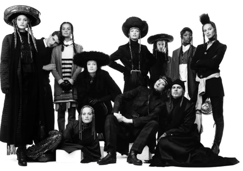 """Collection """"Rabbin chic"""" Jean-Paul Gaultier,Automne-hiver 1993"""
