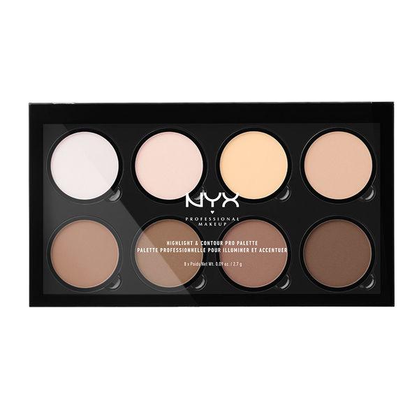 NYX - Celui de NYX est un peu plus poudreux, mais excellent au niveau qualité prix. Il a sensiblement les mêmes teintes et est idéal pour les teints plus rosé comme les teints plus chauds.