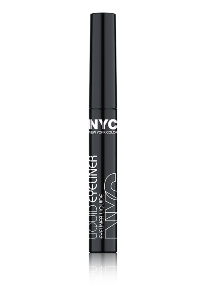 NYC - Et pour terminer, un autre produit coup de coeur qui coûte moins de 5$ est le Eyeliner NYCSa couleur noire perçante est également facile à utiliser. Il est parfait pour les filles qui débutent et veulent se pratiquer.