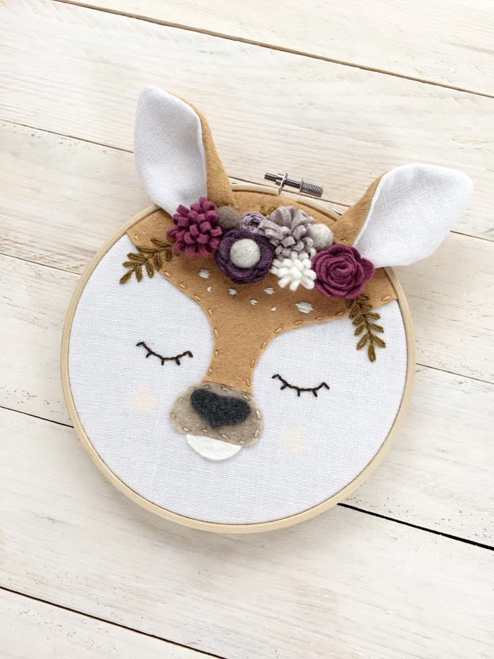 On adore la broderie Bambi de Delika tout-petit