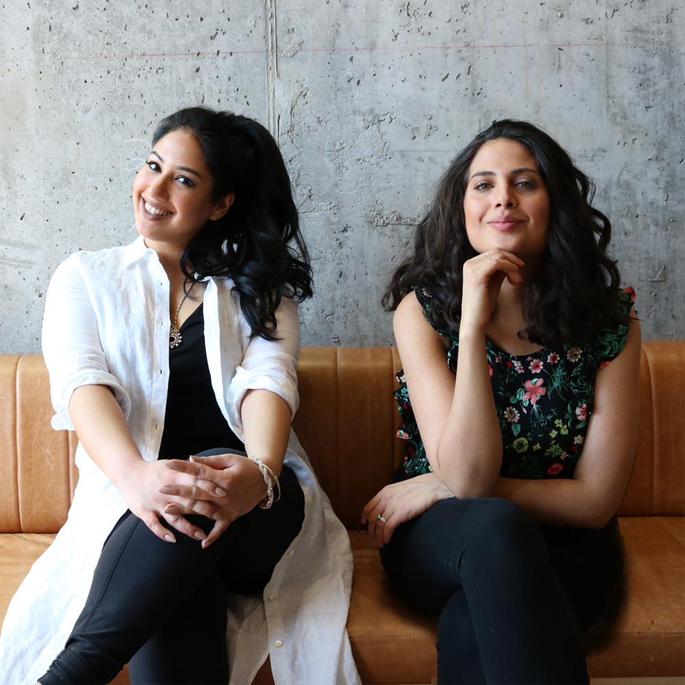 "Kavita Ajwani et Diana Eskander, organisatrices de l'évènement ""He said, she said, Bridging the gap between Tinder & love"""