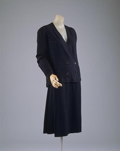 Costume Chanel, 1929