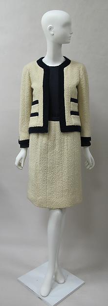 Costume Chanel, 1962