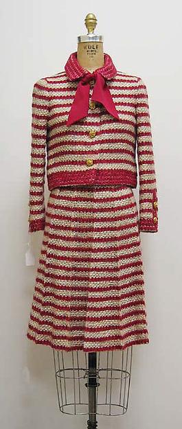 Costume Chanel, 1970