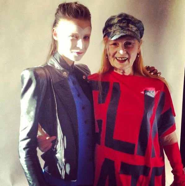 Charlie et Vivienne Westwood, 2012