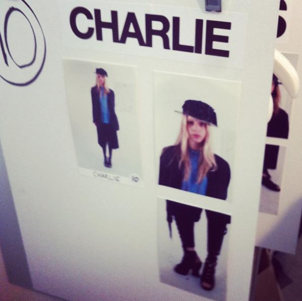 Charlie pour ACNE en 2012