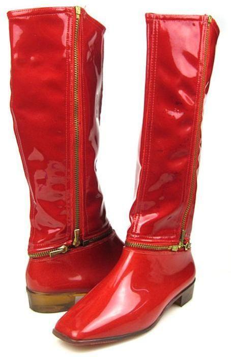 Daddy Longlegs, un modèle de bottes transformable en soulier créé en 1968