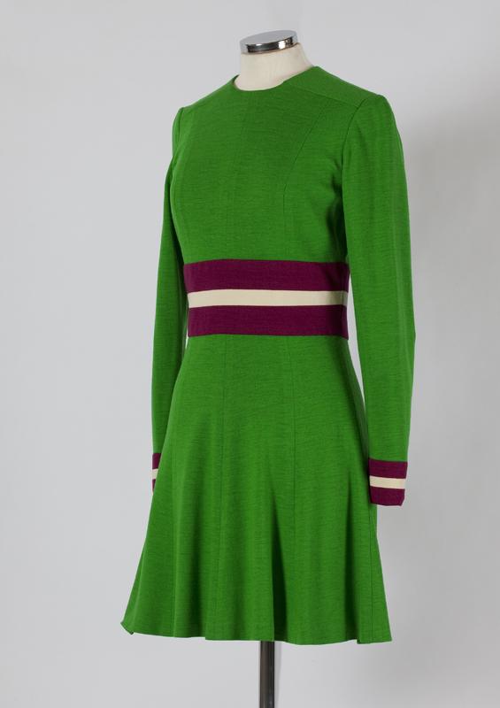Jersey minidress, Mary Quant, fin 1960s
