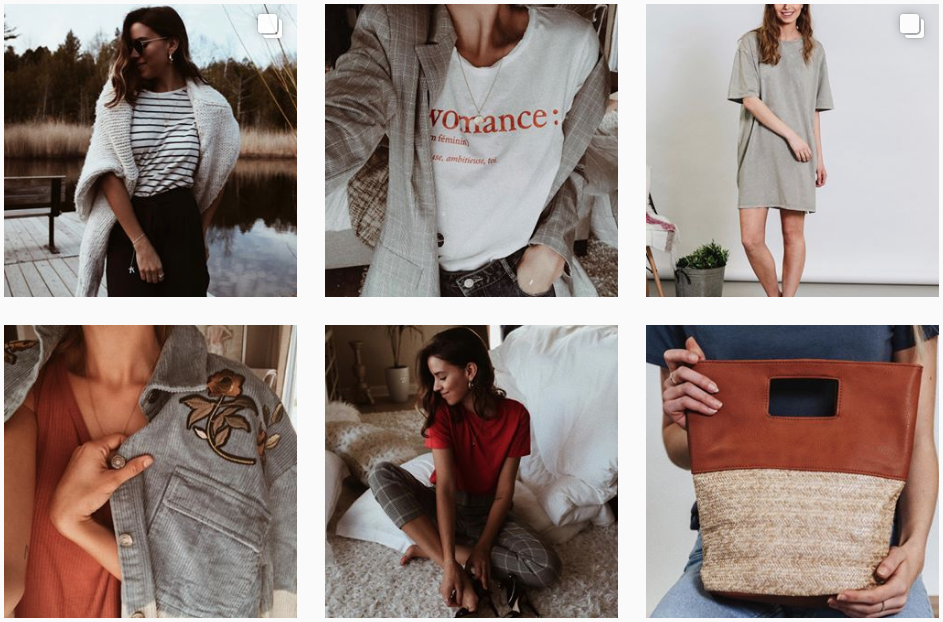 Photos Instagram du compte de Womance