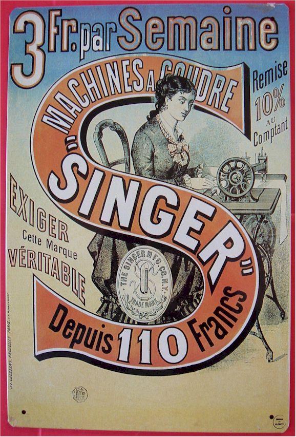 Singer a révolutionné l'approche marketing de plusieurs façons. Il a été l'un des premiers à offrir des plans de paiements échelonnés sur plusieurs semaines, permettant ainsi à une plus grande clientèle d'avoir accès à ses produits.
