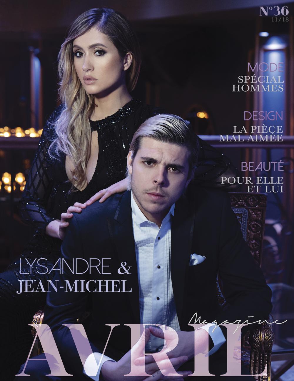 Cover_Lysandre&Jean-Michel_Avril Magazine_nov2018.jpg