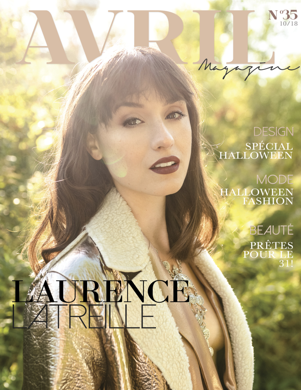 Laurence_Latreille_Avril Magazine_cover.png