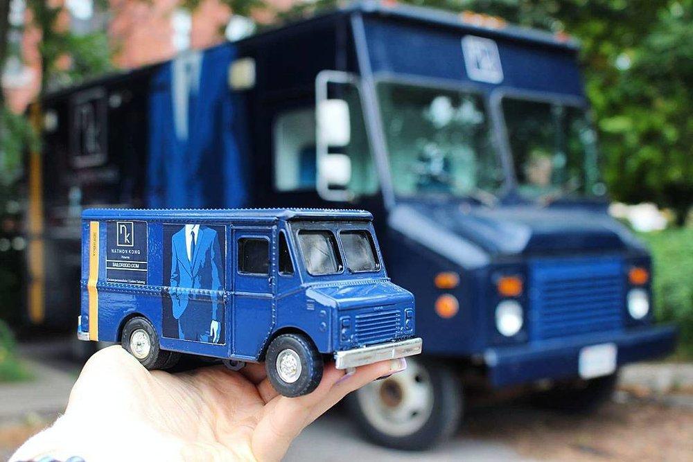 Camion de Tailor2go, source : site web nathonkong.com