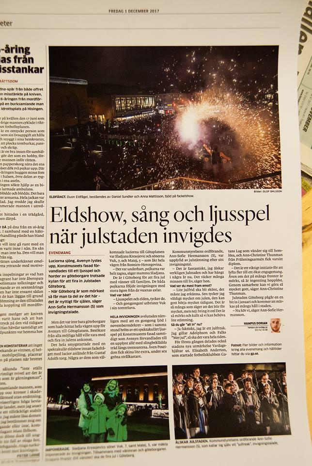 Göteborgs-Posten, december 2017