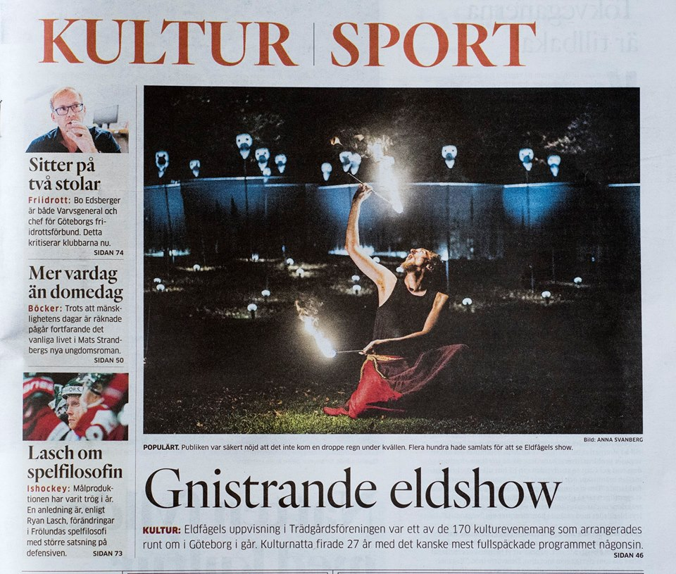 Göteborgs-Posten, oktober 2018