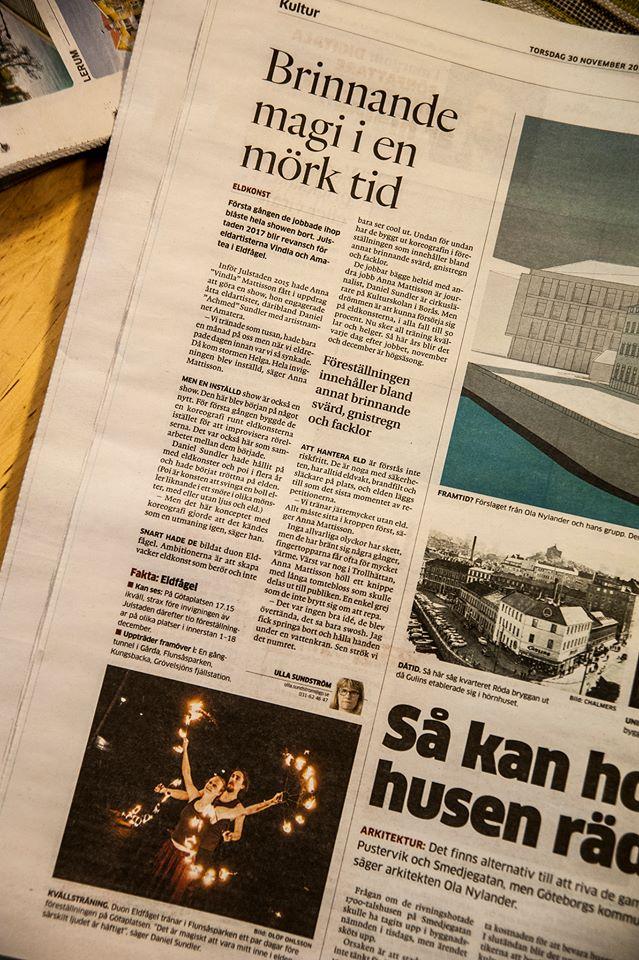 Göteborgs-Posten, november 2017