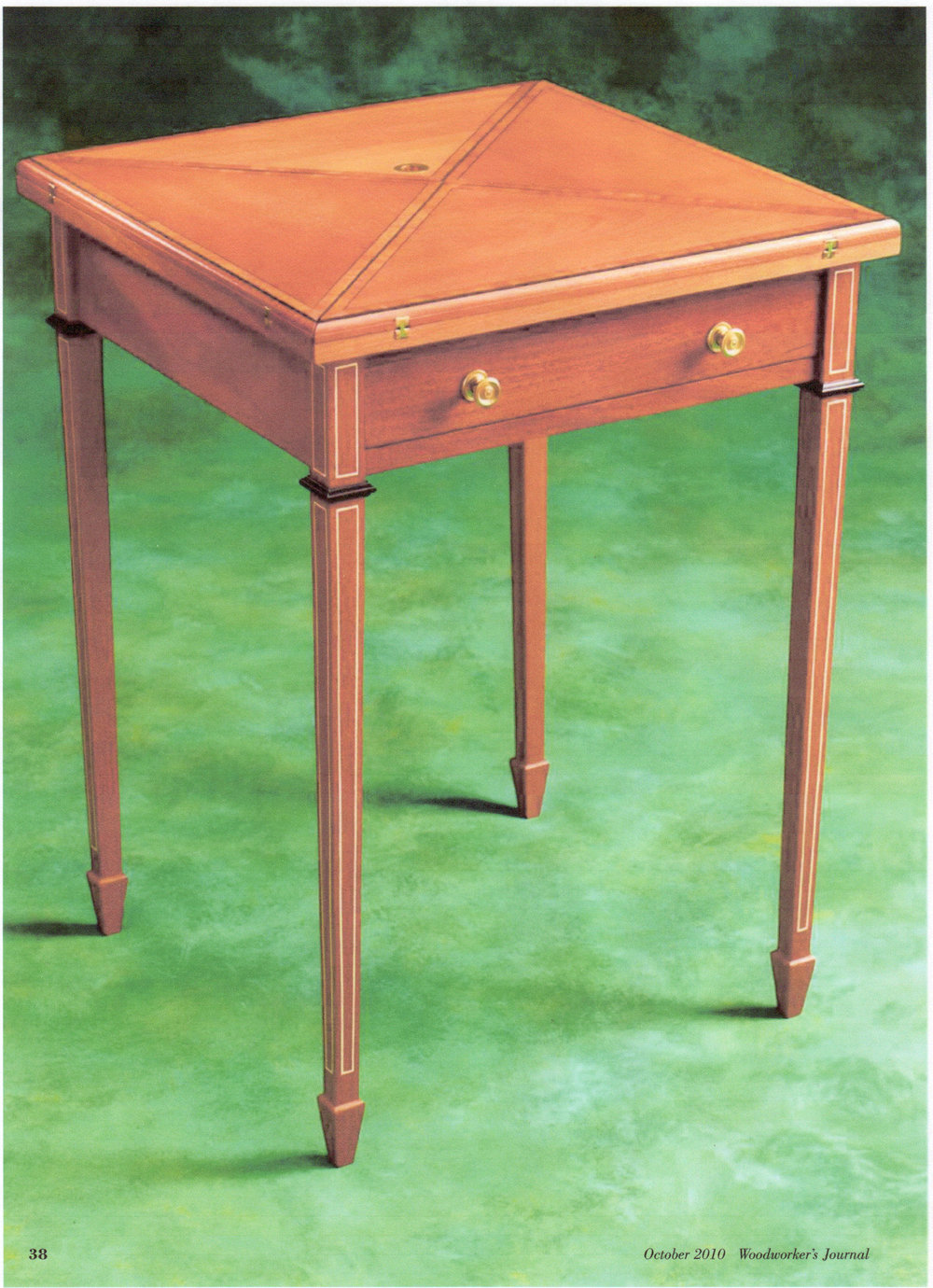 Edwardian Envelope Table