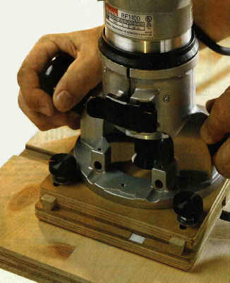Adjustable Dado Jig Article, Woodworker's Journal, December 2001
