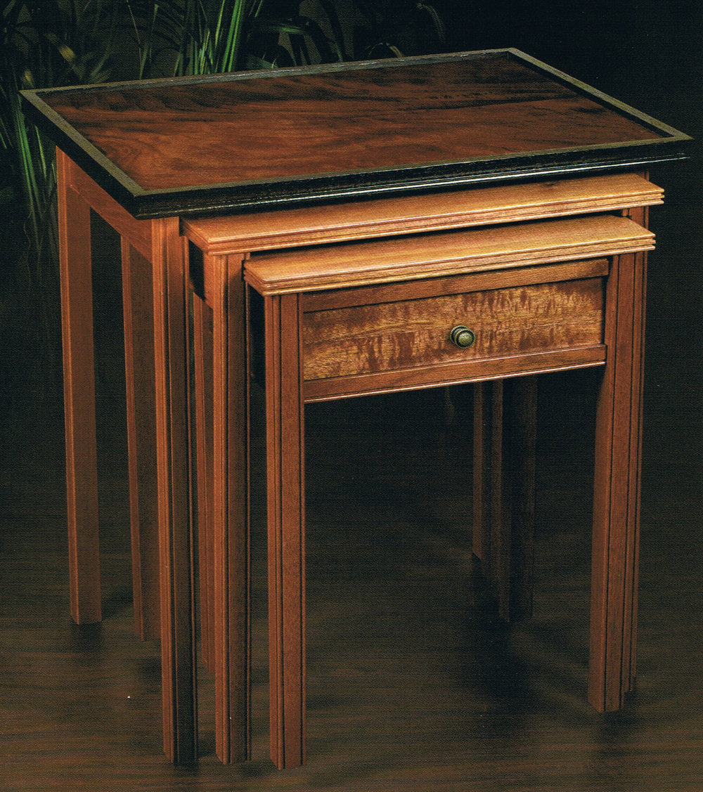 Nested Tables Article, Woodcraft Magazine, September 2005