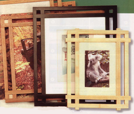 Miterless Picture Frames Article, Woodcraft Magazine, January 2007