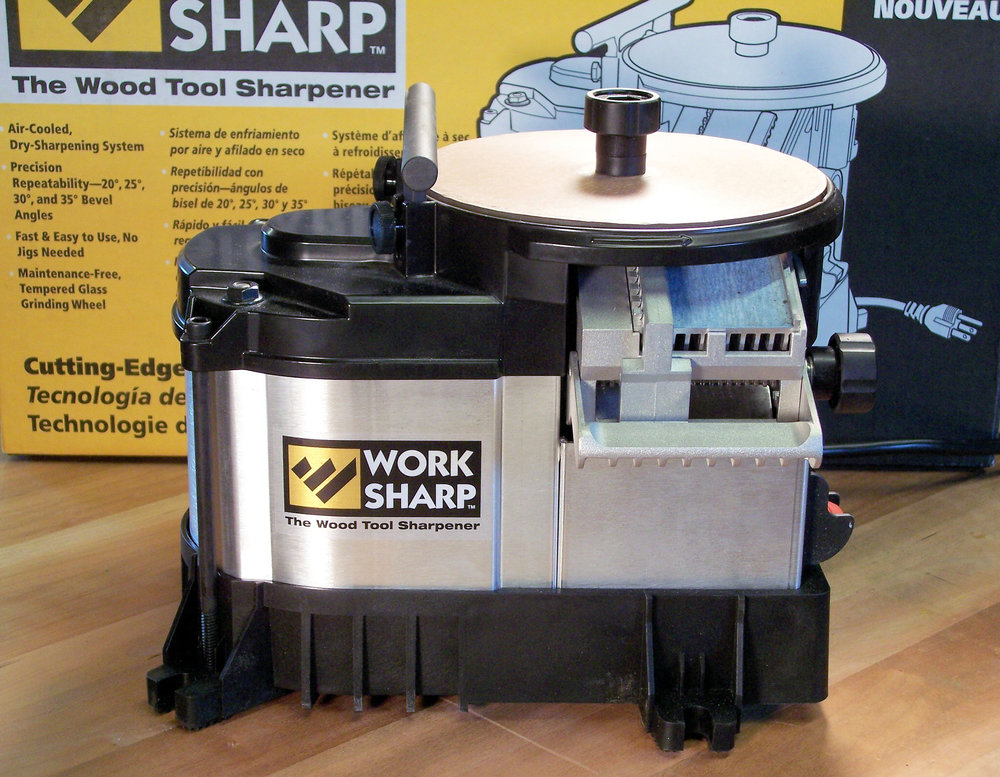 Work Sharp, The Wood Tool Sharpener, Review, Woodcraft Magazine, September 2007