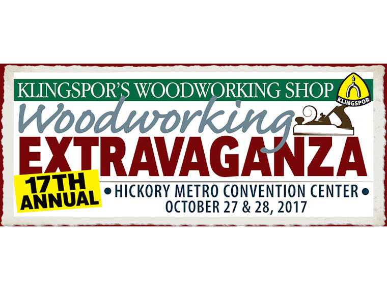 Klingspore Woodworking Extravaganza
