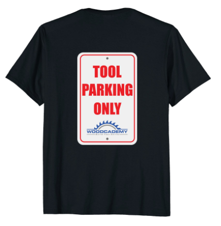 Tool Parking T-Shirt Back