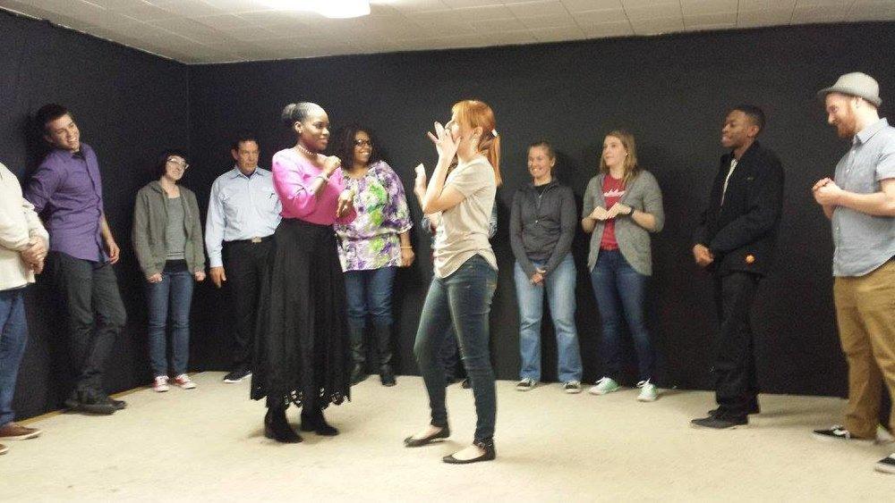 cincinnati improv class acting class