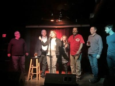 The True Theatre board. photo credit: Jennifer Verkamp