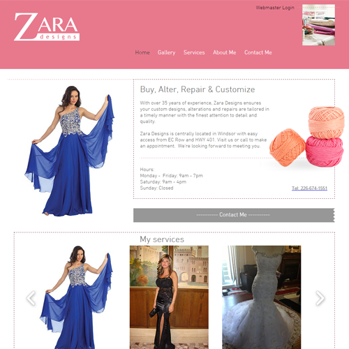Zara Designs Website.png