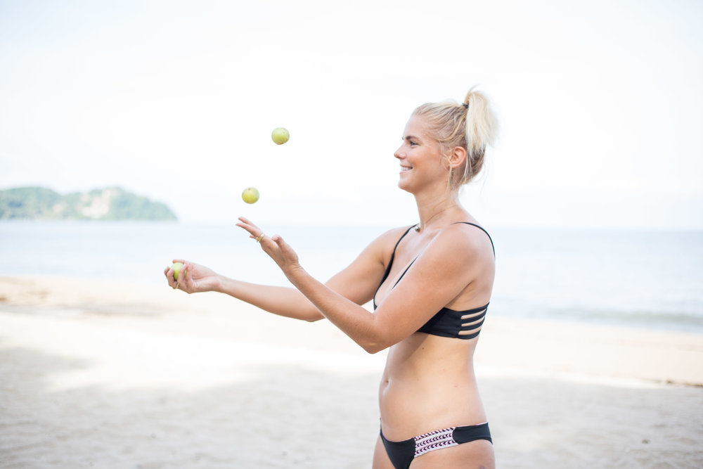 Proof of me juggling, well kind of. Pic: Jess Leigh