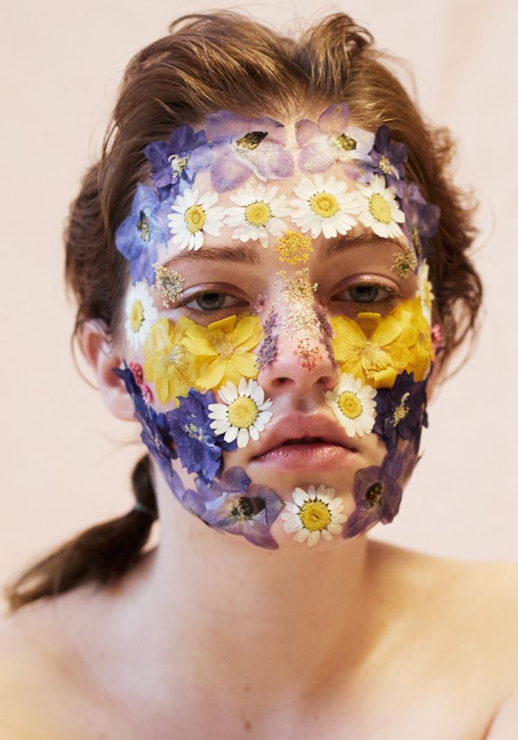 Photography: Kristing Vicari | Model: Julia Campbell Gillies | Hair & Makeup: Khandiz Joni   Originally featured on  Volt Cafe