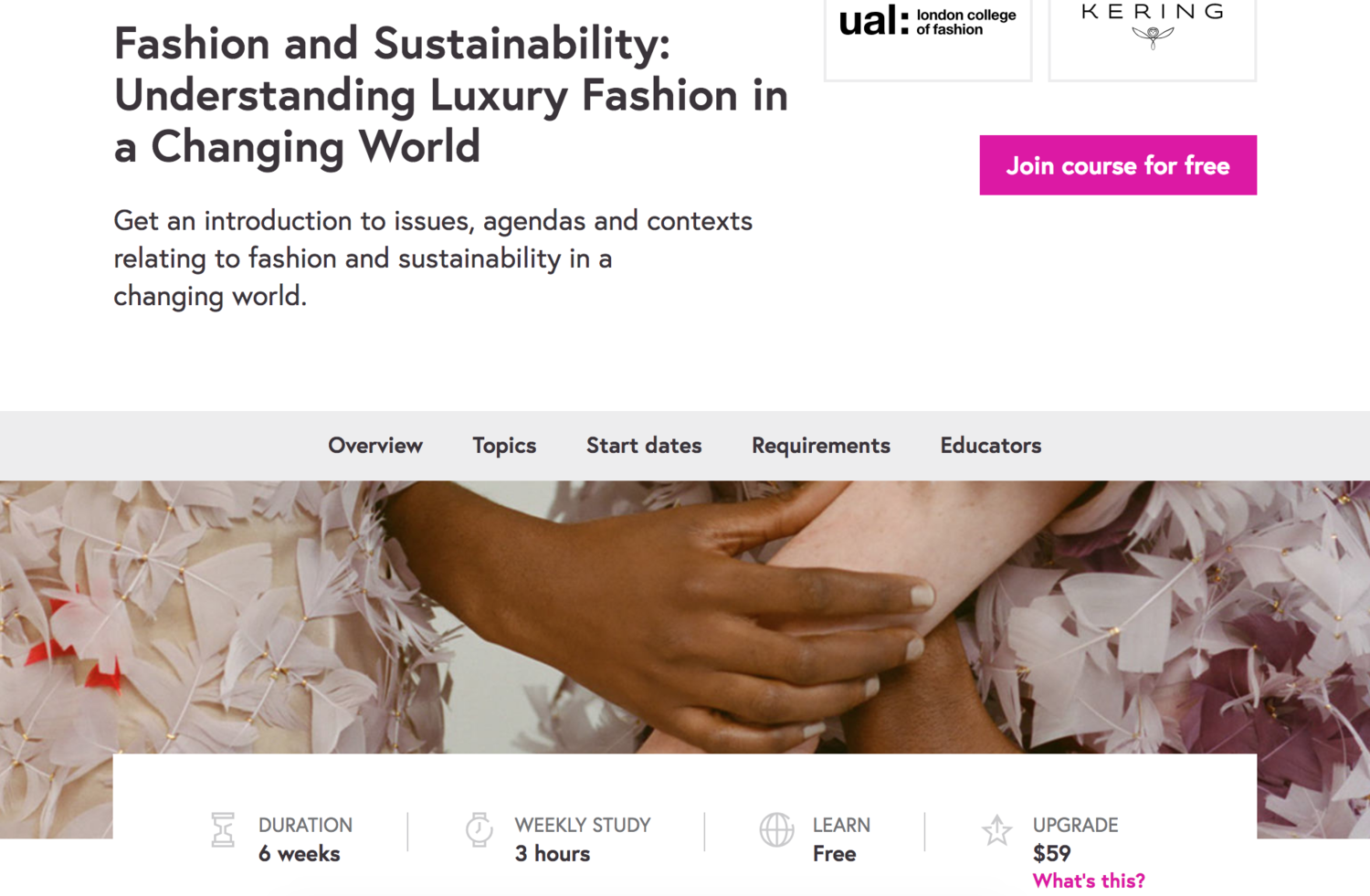 Fashion And Sustainability Understanding Luxury Fashion In A Changing World Global Fashion Exchange