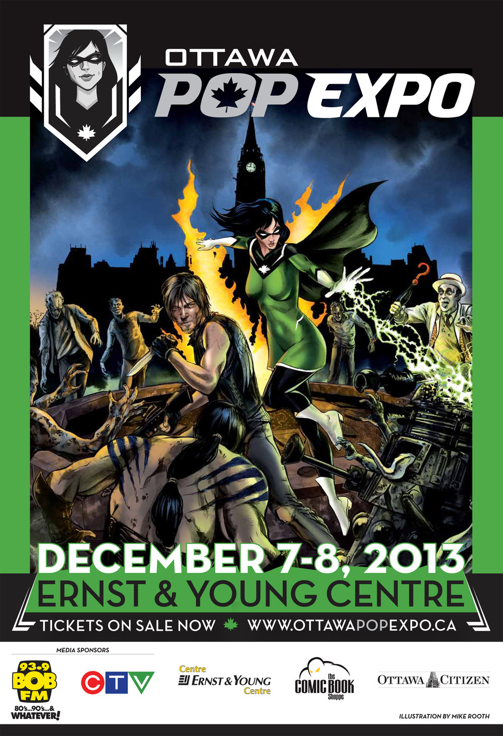 Poster for 2013 Ottawa Pop Expo