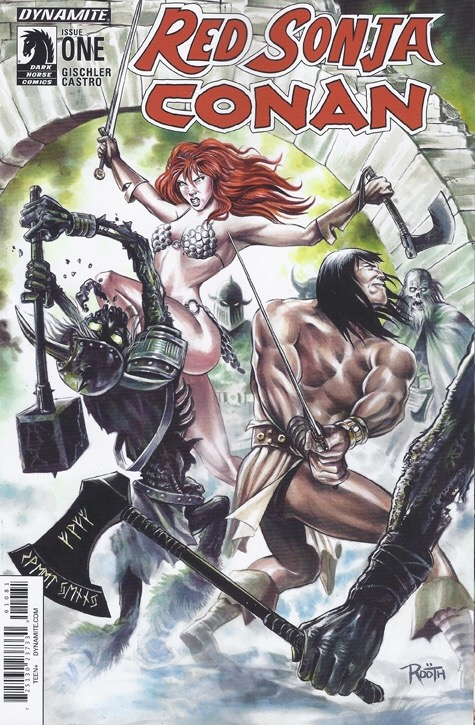 Red Sonja / Conan 1811 Comics variant (retail exclusive)