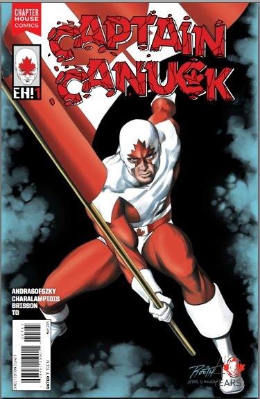 "Captain Canuck #1 ""EH!"" variant (Simonson homage)"
