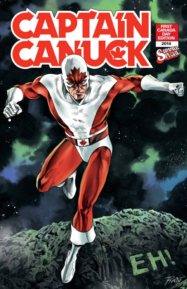 Captain Canuck Summer Special 2014 'EH!' variant