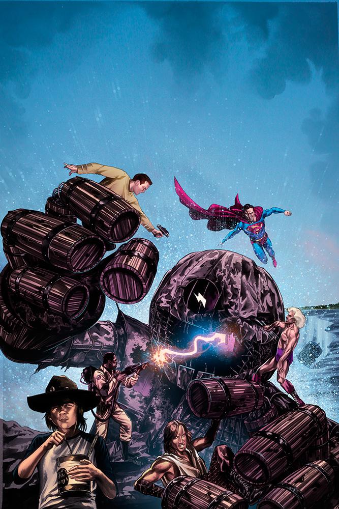 Poster for 2014 Niagara Falls ComicCon