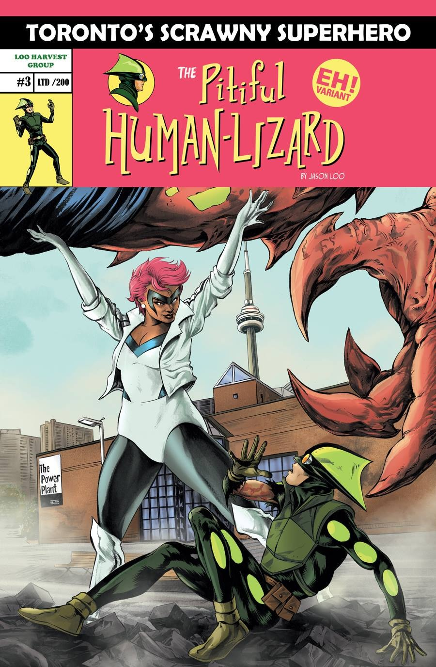 The Pitiful Human Lizard #1 'EH!' variant