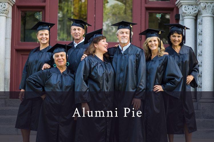 Alumni Pie