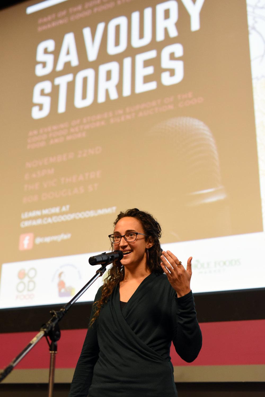 Storyteller Leah