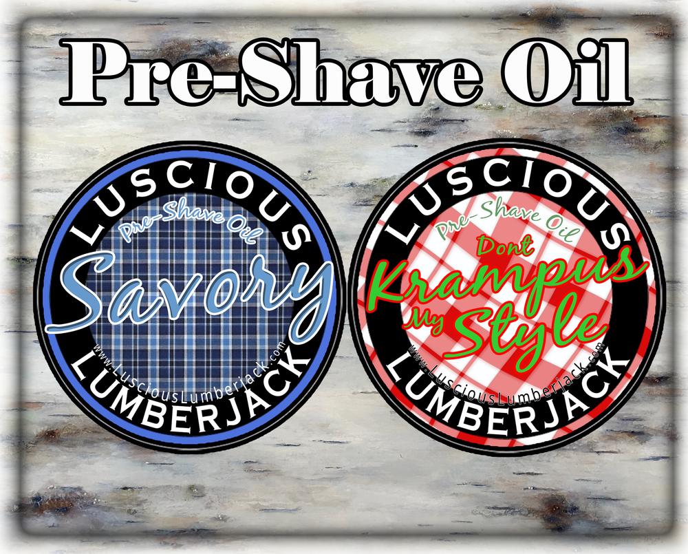 Pre-Shave Oil