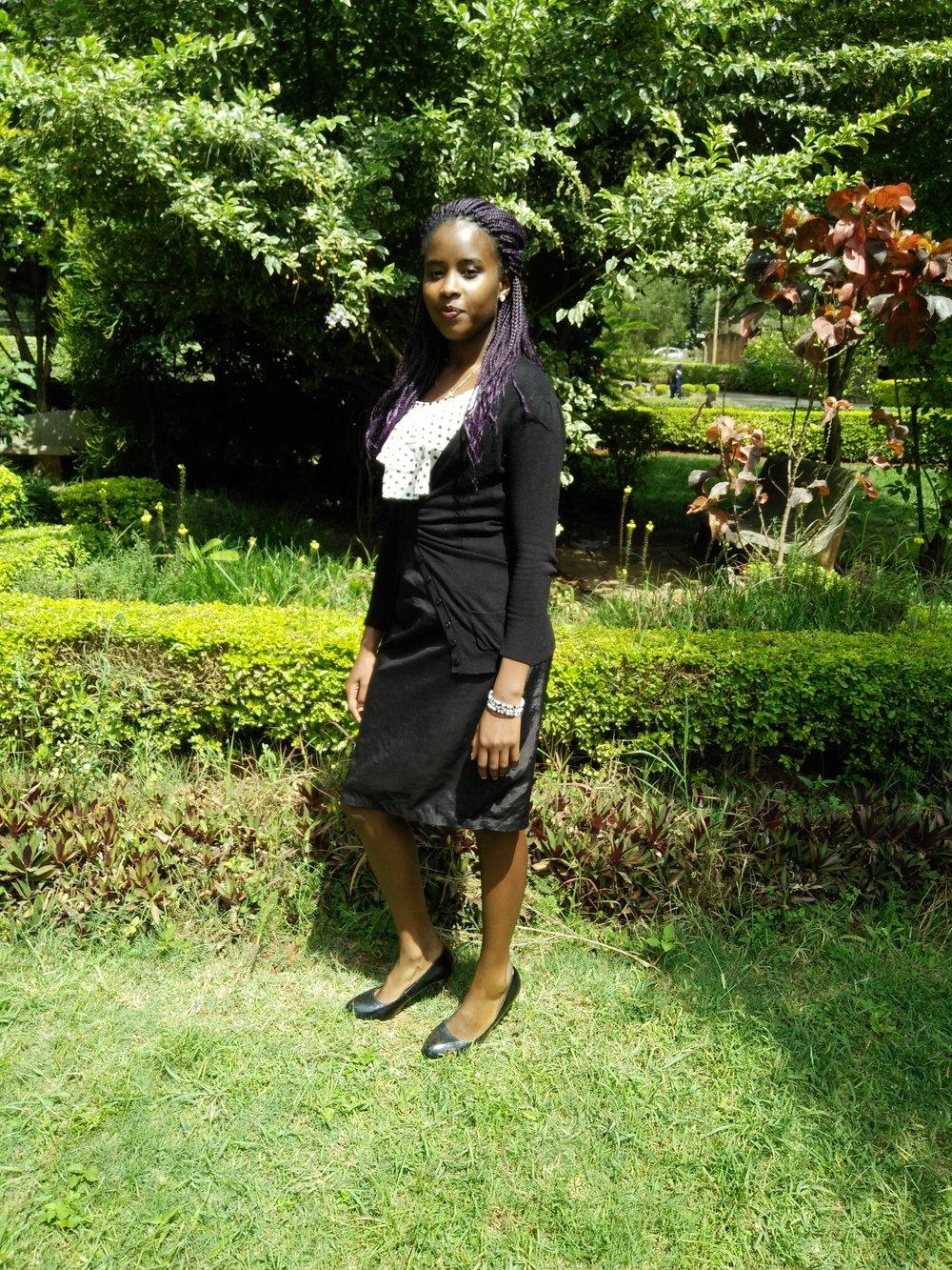 Agnes  Nursing Student,  Kenya