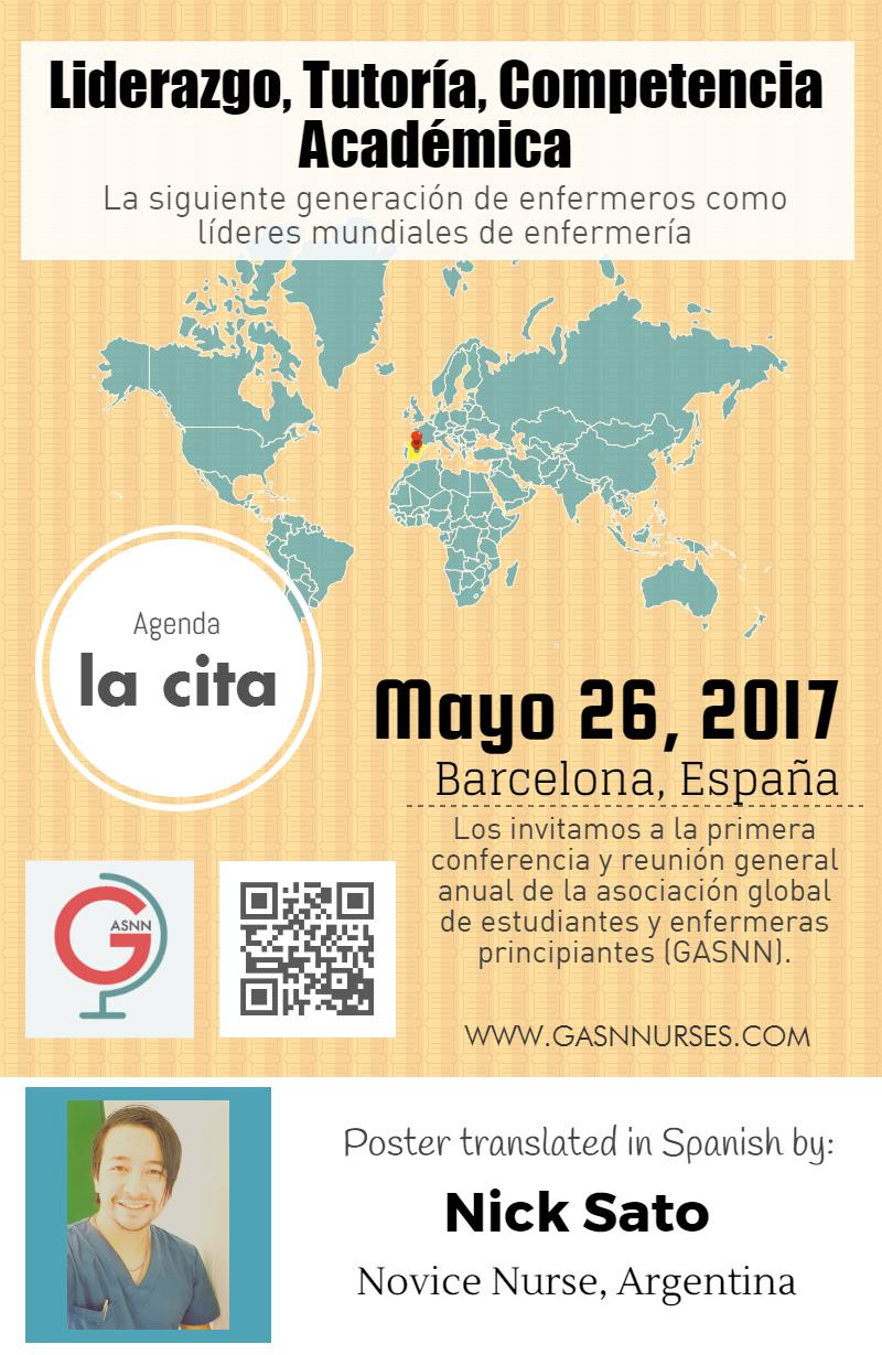 Spanish Conference Poster